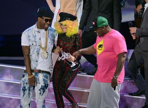 Nicki Minaj a gagné l'Award de la meilleure video féminine!