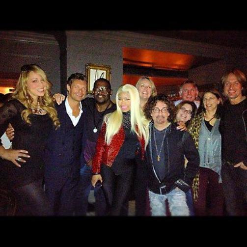 American Idol avec Nicki Minaj