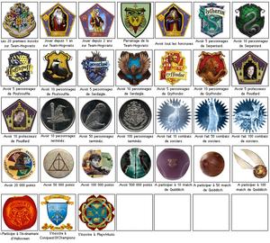 Les médailles