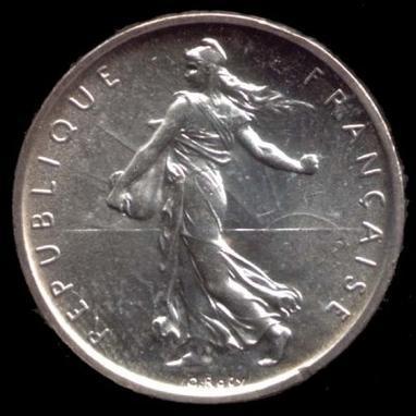 5 francs semeuse :