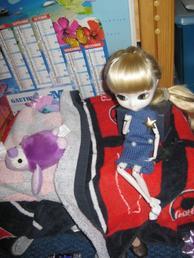 Jade dans sa chambre !!