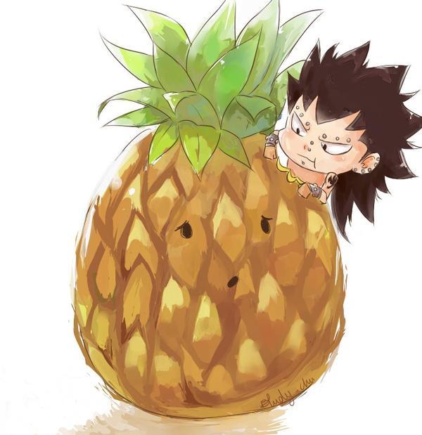 Nos p'tits amis, aiment les fruits