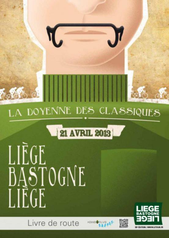 Affiche Officielle Liège-Bastogne-Liège 2013