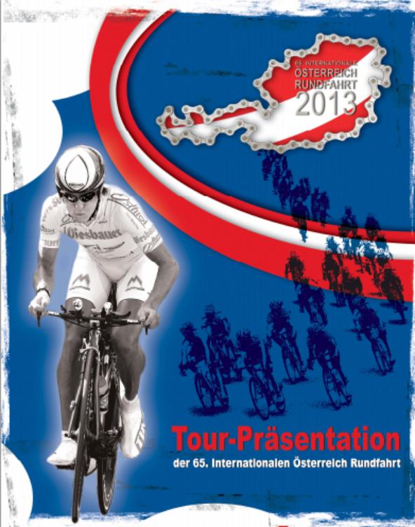 Affiche Officielle Tour d'Autriche 2013