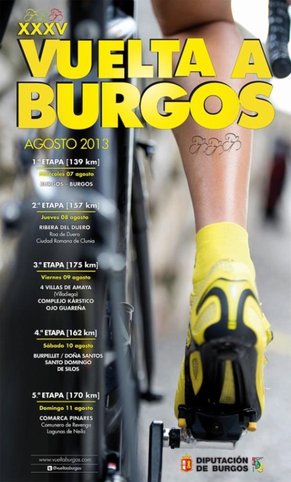 Tour de Burgos 2013 : présentation de la 35eme édition
