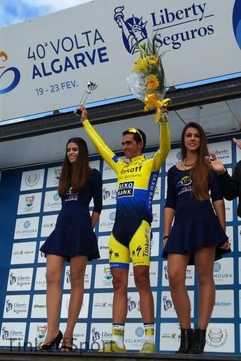 Tour d'Algarve 2014 (4eme étape) : Alberto Contador a du répondant...