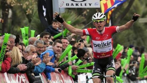 Tour de Catalogne 2014 (6eme étape) : Stef Clement renoue avec la victoire, les français n'ont pas démérité