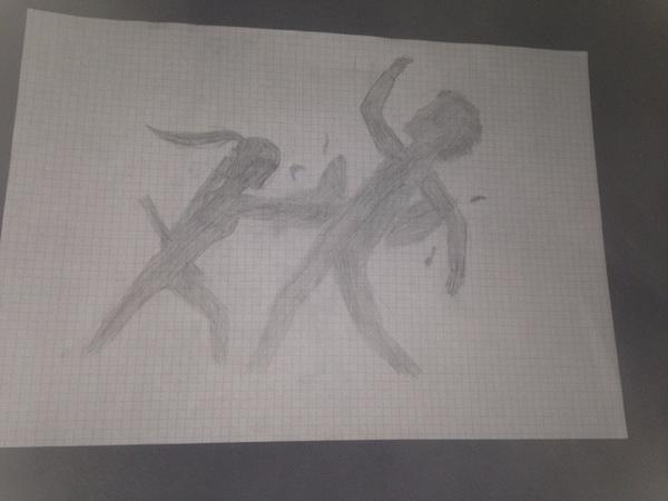 Premier dessin du blog! (Et sûrement pas le dernier)