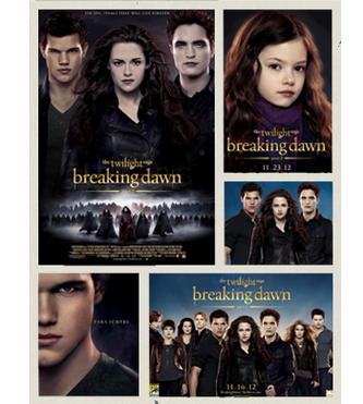 Affiche Breaking Dawn part 2