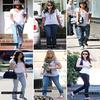 .    SONDAGE    .   Qui a quand même « du style », dans un t-shirt et un jean ? .  Il paraît qu'elles ont du « style » ! Oui mais, qu'en est il vraiment une fois hors du tapis rouge ? Si vous ne leur donner que 5 minutes, un t-shirt blanc et un jean ? Qu'en feraient-elles ?.   Le « style » c'est, savoir porter les basiques sans avoir l'air « merdique ».   .