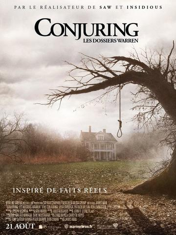 Conjuring : le film qui va te filer la chair de poule !