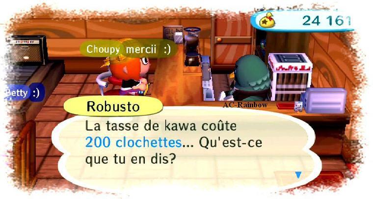 Wifi du moment (Choupy)