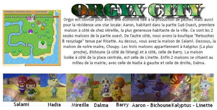 Infos sur la ville de Orgyx :)