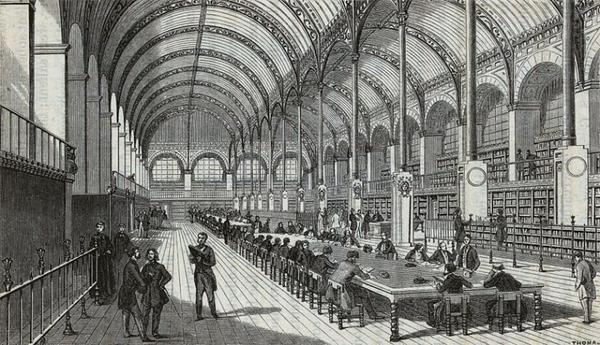Les monuments de Paris _ _ Bibliothèque Sainte-Geneviève