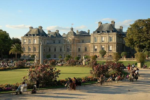 Châteaux et Palais _ _ Palais du Luxembourg