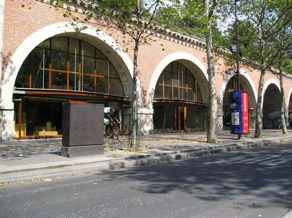 Les monuments de Paris _ _ Viaduc des Arts
