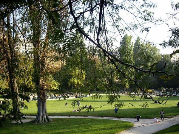 Parcs et Jardins Parisien _ _ Parc Sainte-Périne