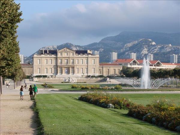 Square, parcs et jardins en France _ _ Parc Borély