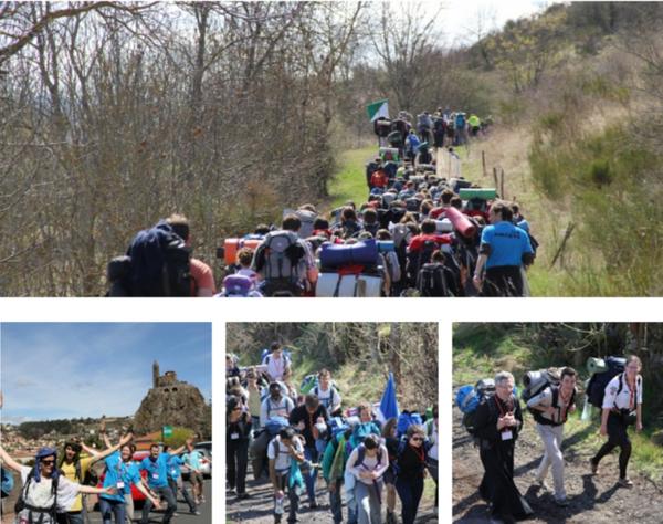 Les Pèlerinages _ _ Le  Puy-en-Velay