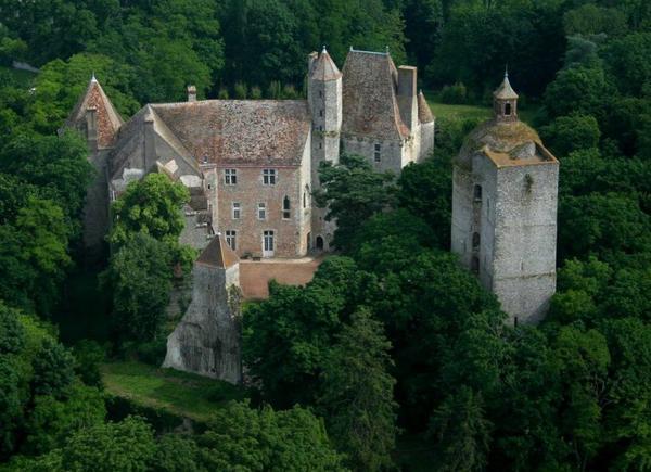 Châteaux et Palais _ _ Château d'Auneau