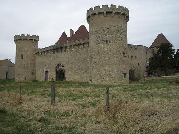 Châteaux et Palais _ _ Château de La Roche (Puy-de-Dôme)