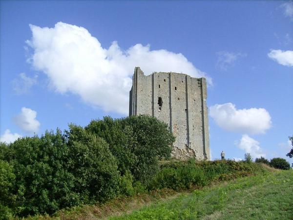 Architecture militaire du Moyen-Âge _ _ Tour de Broue