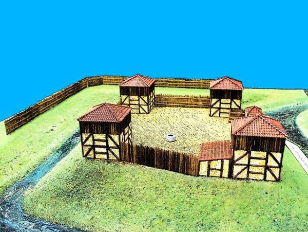 Architecture militaire du Moyen-Âge _ _ Bastide de Gironville