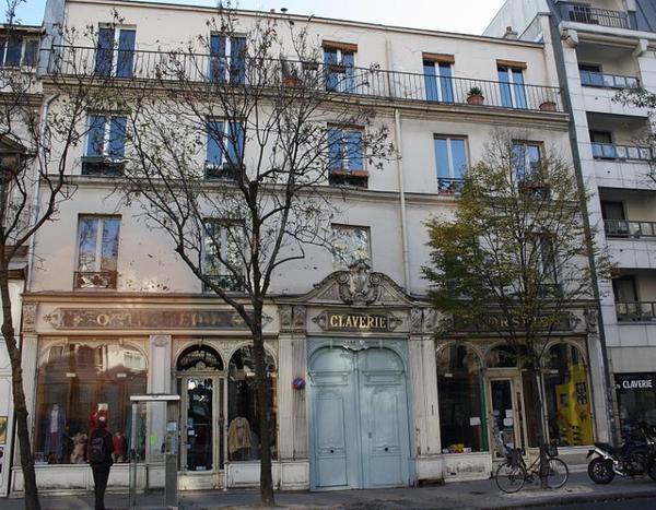 Les monuments de Paris _ _ Claverie (enseigne)