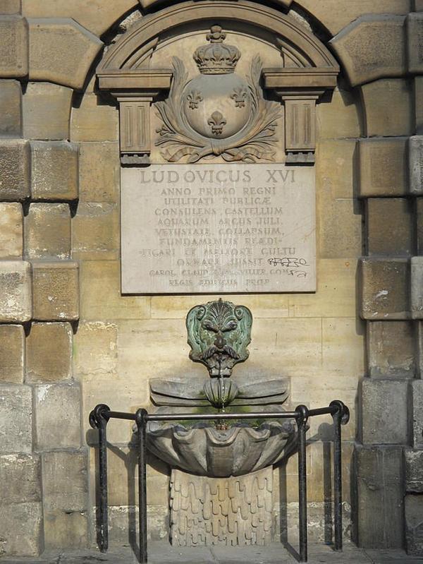 Les monuments de Paris _ _ Fontaine de la Croix du Trahoir