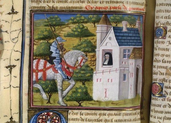 Personnages et Objets imaginaires ou de légendes  _ _ Perceval