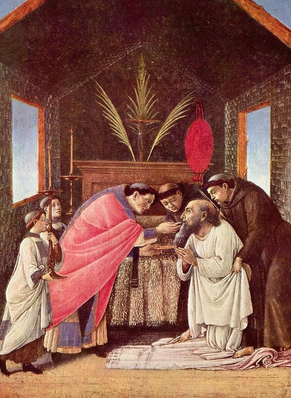 Les sacrements _ _ Eucharistie