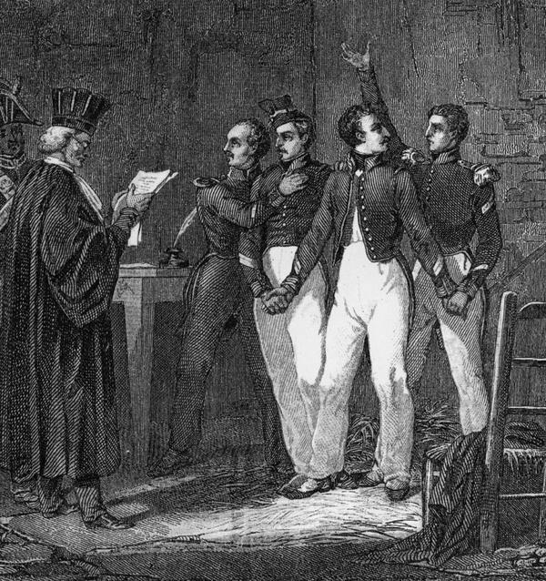 Le XIX eme siécle  _ _ Quatre sergents de La Rochelle