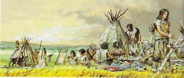 Etude de la préhistoire _ _ Chasseur-cueilleur