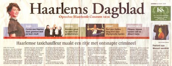 Histoire de la Presse écrite _ _ Haarlems Dagblad