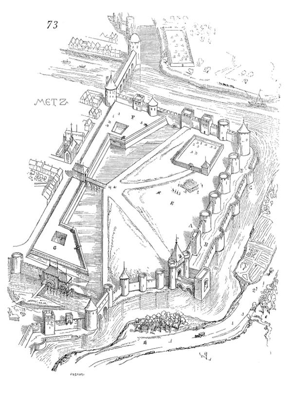 Porte en Chandellerue