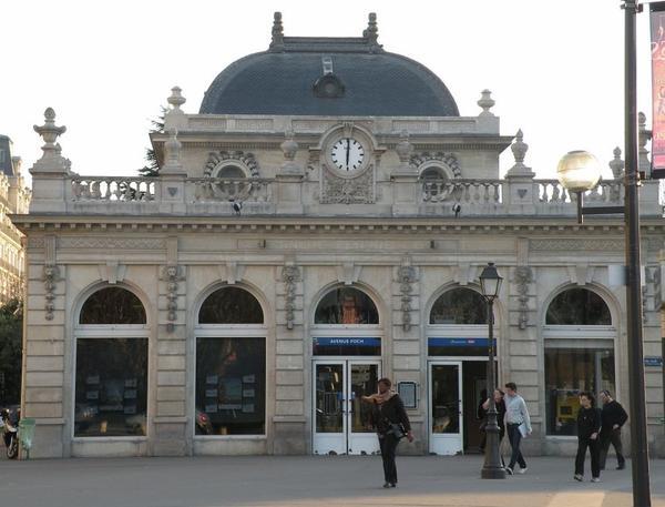 Gare de Paris _ _ Gare de l'avenue Foch