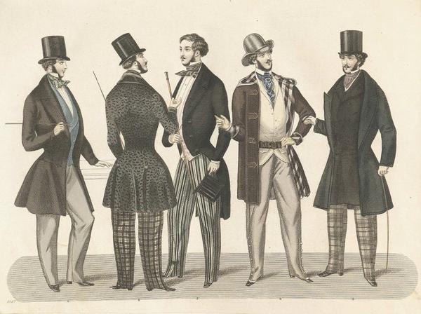 Histoire du costume_ _ Haut-de-forme