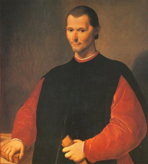 Philosophe _ _ Nicolas Machiavel