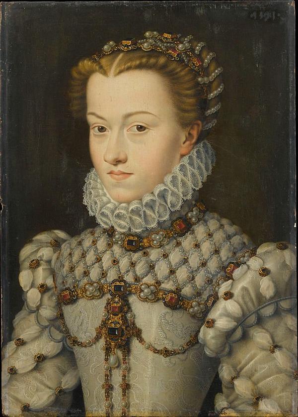 Reine et Impératrices de France _ _ Élisabeth d'Autriche (1554-1592)