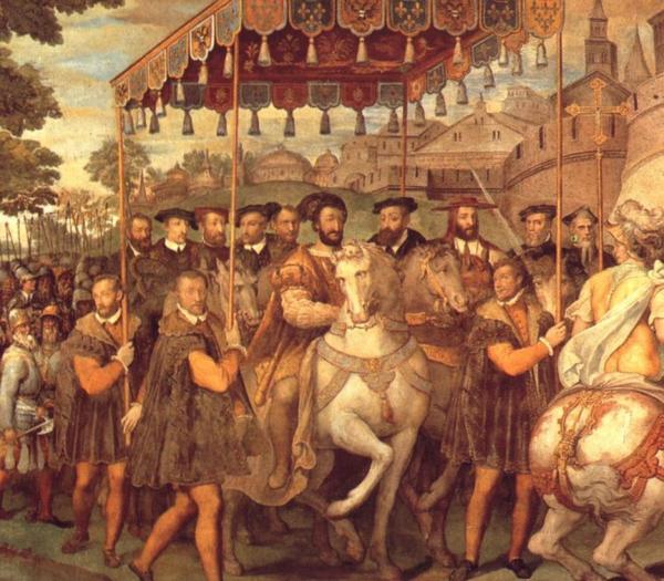 1540 en Europe