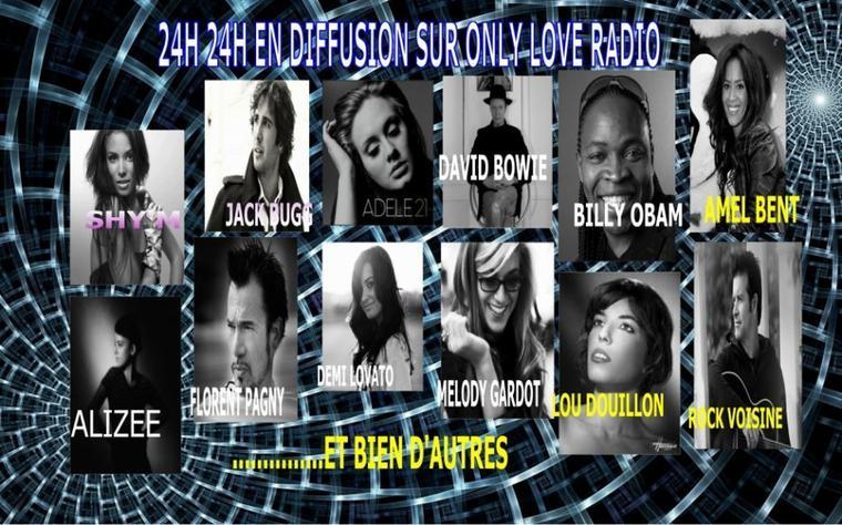 on écoute quoi sur only love radio???