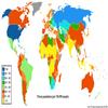 carte de la population carcerale du monde