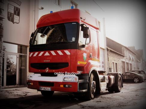 Tracteur SDIS 22