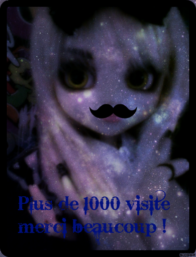 Merci , plus de 1 000 Visites !!!