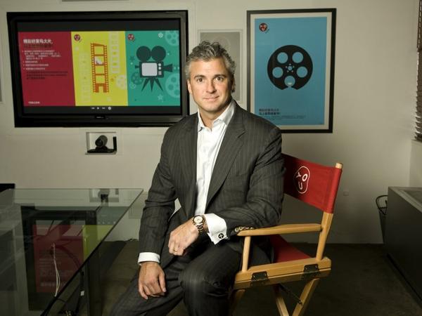 Shane McMahon saisit des opportunités dans le domaine de la vidéo à la demande en Chine.