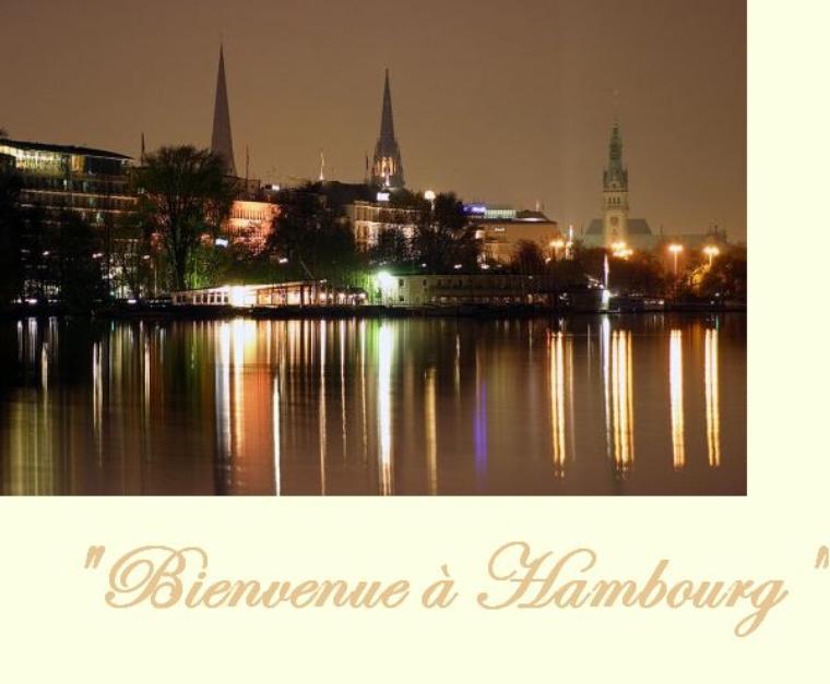 """*  . Chapitre 1 . """" Bienvenue à Hambourg """" *"""