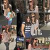"""- 18 Août 2010 - Demi arrivant à son hôtel à New York après avoir été à """"Fox & Friends"""".  -"""