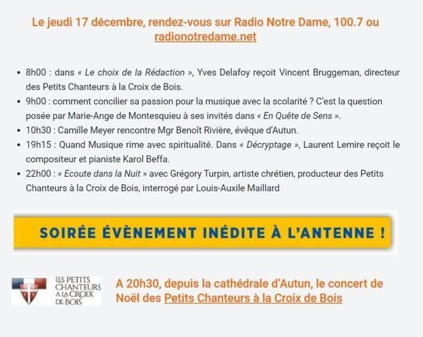 PCCB Concert de Noël / 2020