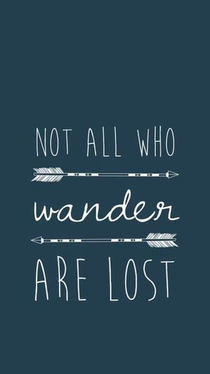 Tout ceux qui errent ne sont pas perdus ♥