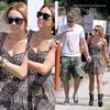 . . 01 juillet 2010: Miley va petit déjeuner avec son petit ami, Liam, chez Patys à Toluca Lake, CA .  . .